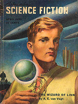 Astounding Science Fiction, April 1950 (25 cents)