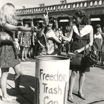 Atlantic City, 1968: Freedom Trash Can